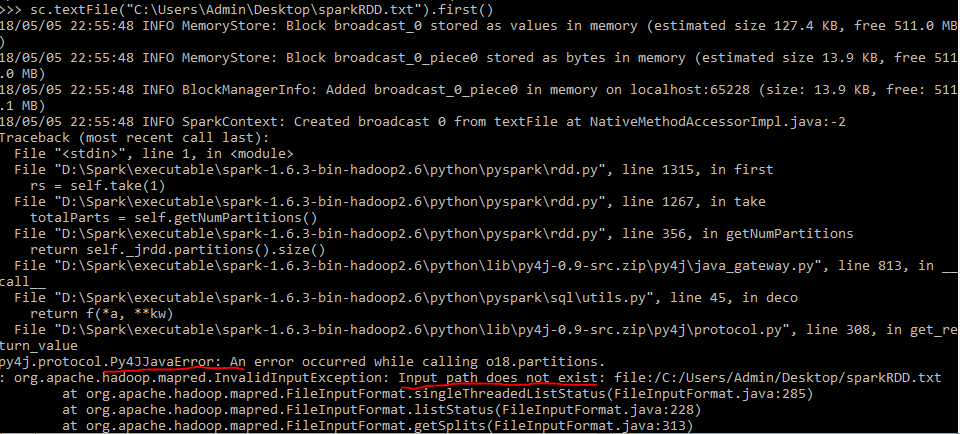 Unable to access local file using PySpark - Python - itversity
